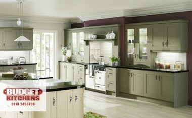 Gresham ivory kitchen from Budget Kitchens Leeds