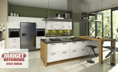 Linea ivory kitchen from Budget Kitchens Leeds