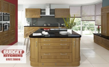 Porto Lissa Oak kitchen from Budget Kitchens Leeds